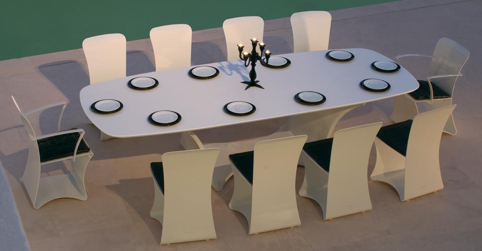 Muebles de terraza muebles de jard n de dise o for Muebles diseno barcelona