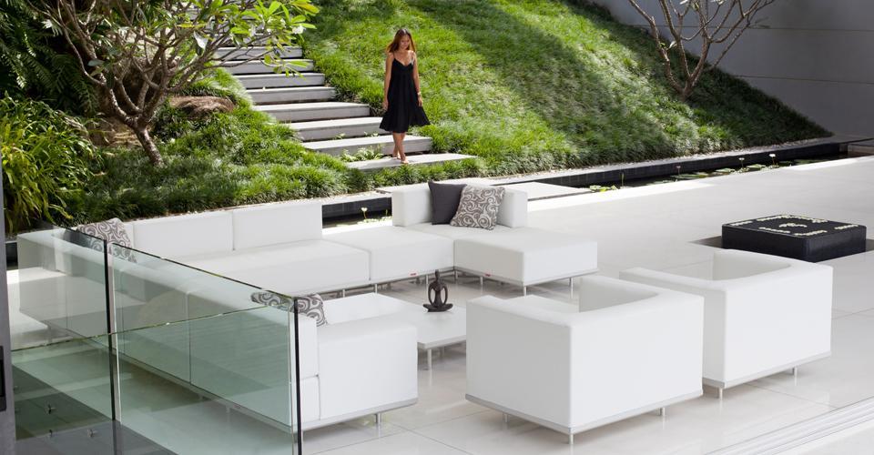 Muebles de terraza muebles de jard n de dise o for Mobiliario jardin terraza